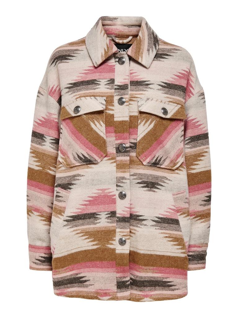 "Overshirt mit Muster ""Frida"""