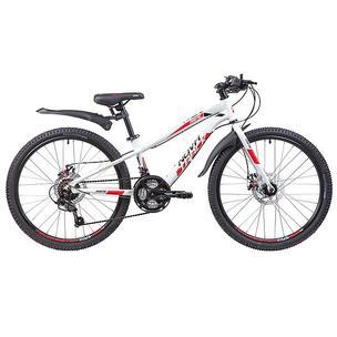 """Велосипед Novatrack Prime 24 2019 11"""" white"""