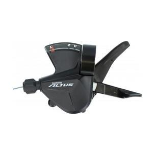 Шифтер Shimano Altus М2010 лев 3ск тр. 1800 мм ESLM2010LB