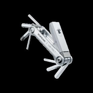 TOPEAK Набор Lumi Tool 7, 7 функций с фонарем и чехлом
