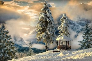 Winter Landscapes (9) hd wallpaper