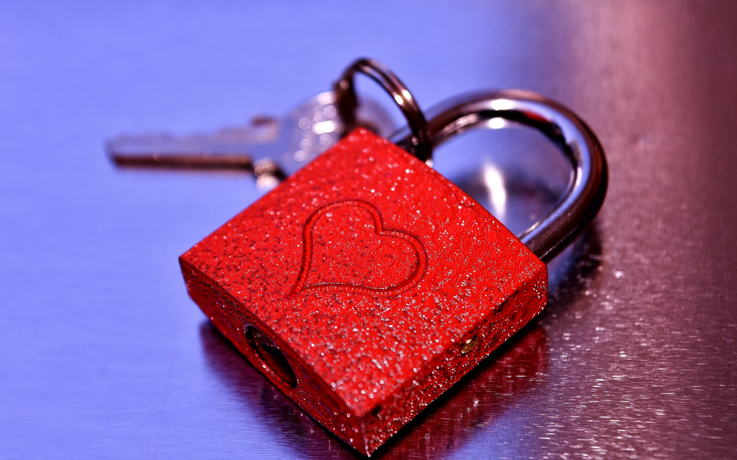 lock heart love x