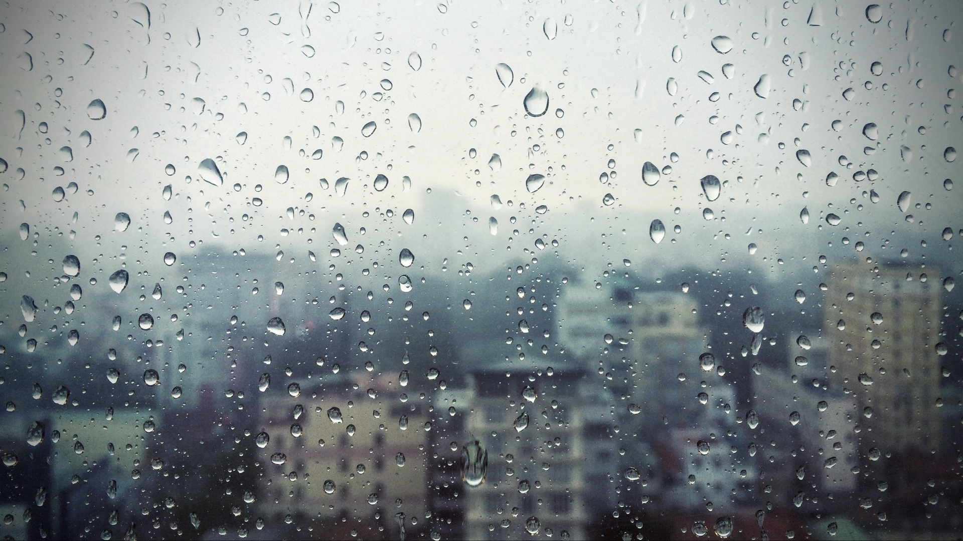 rain window glass buildings drops x