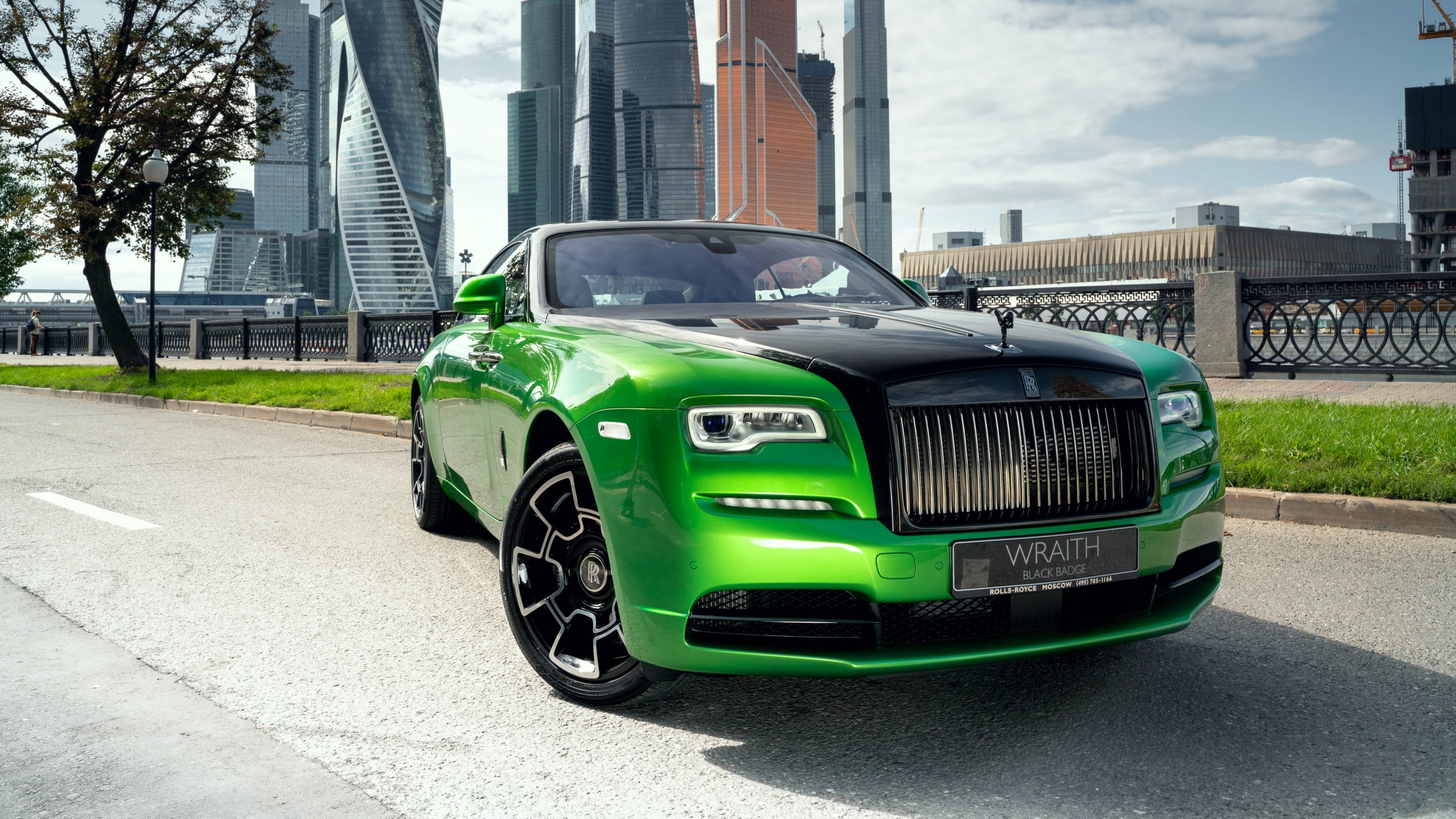Rolls Royce Wraith Black And Bright 2019 4k Hd Wallpaper Find Hd Wallpapers