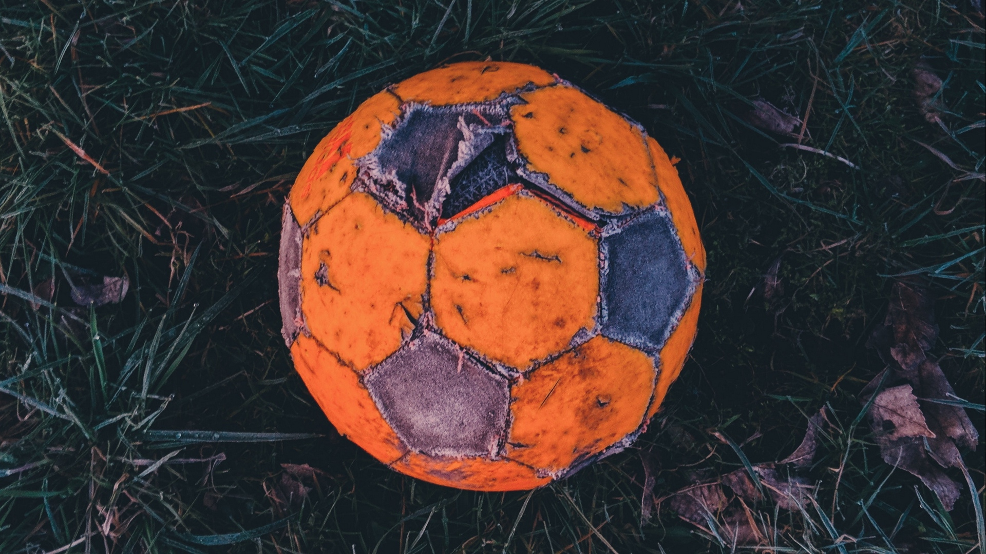soccer ball football old x