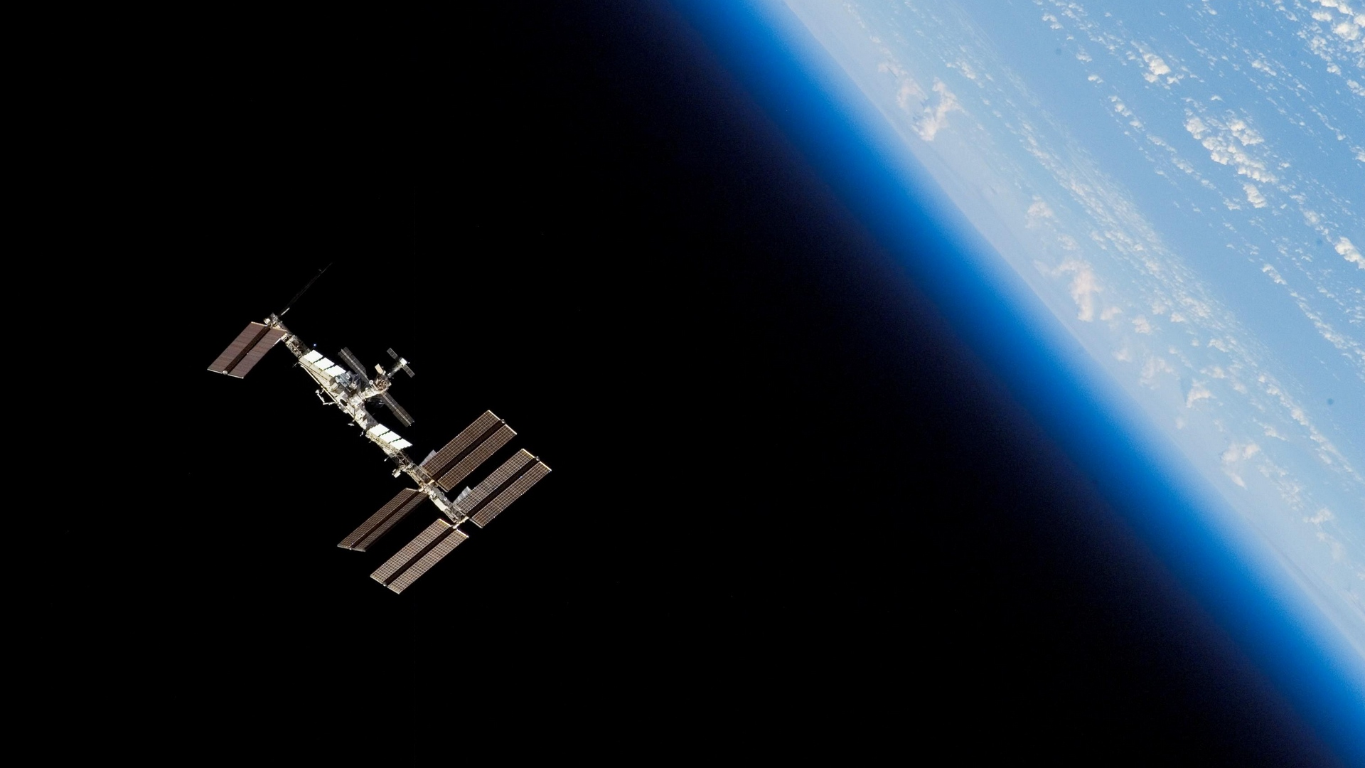 station iss space orbit planet earth x