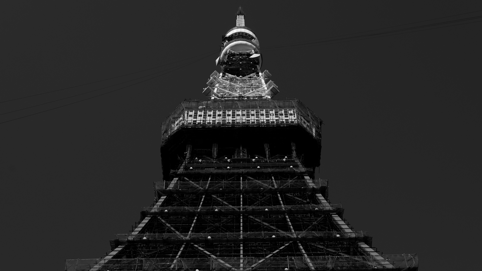 tower bw architecture x