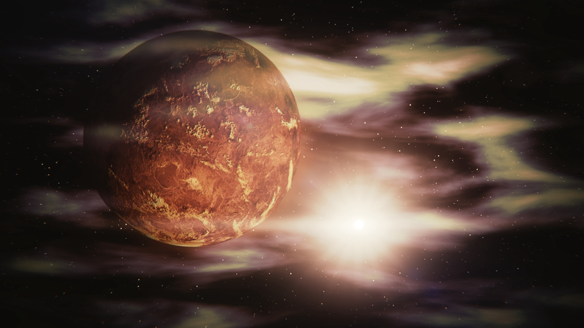 venus space galaxy x