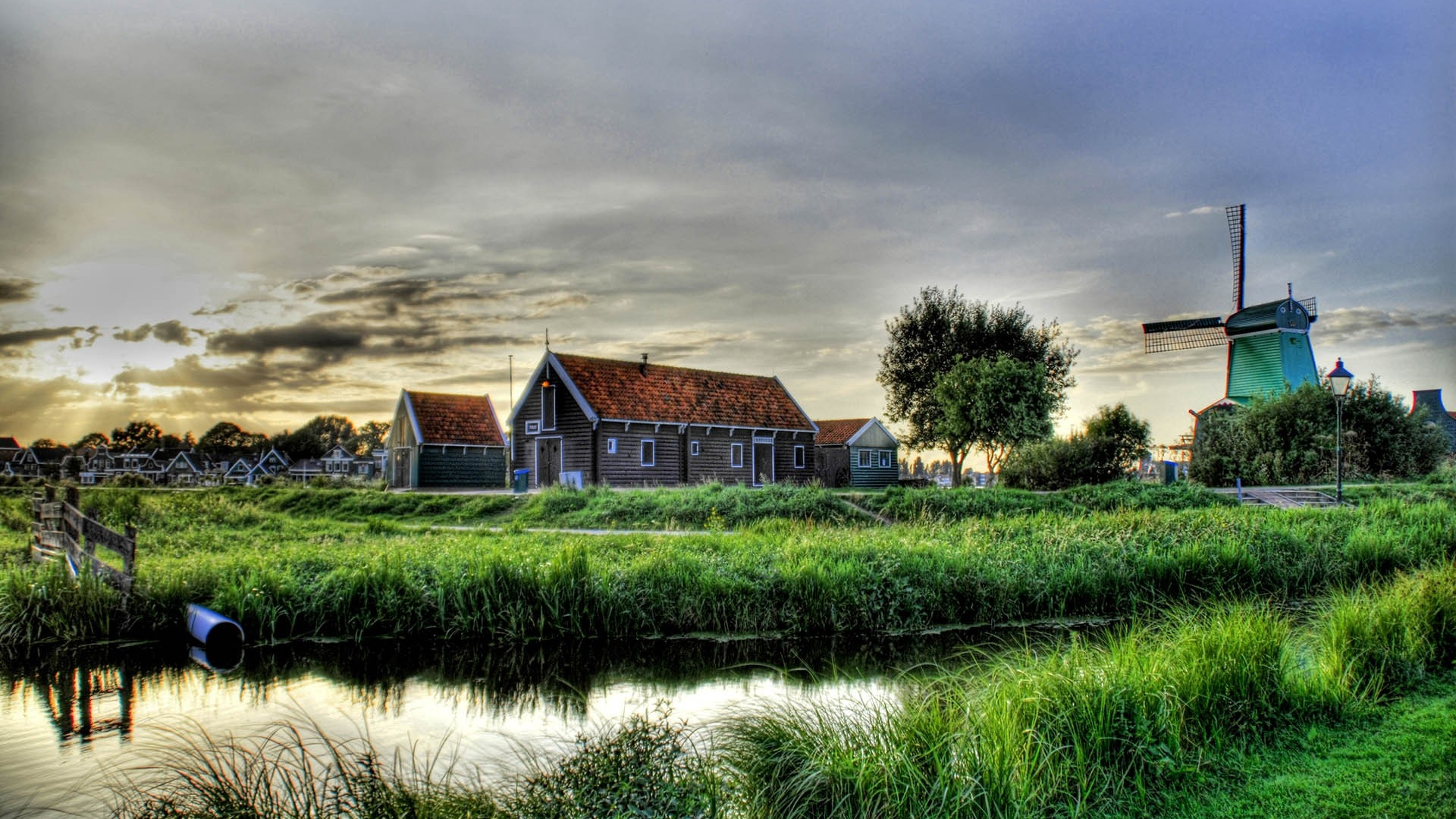 village mill house grass lake hdr x