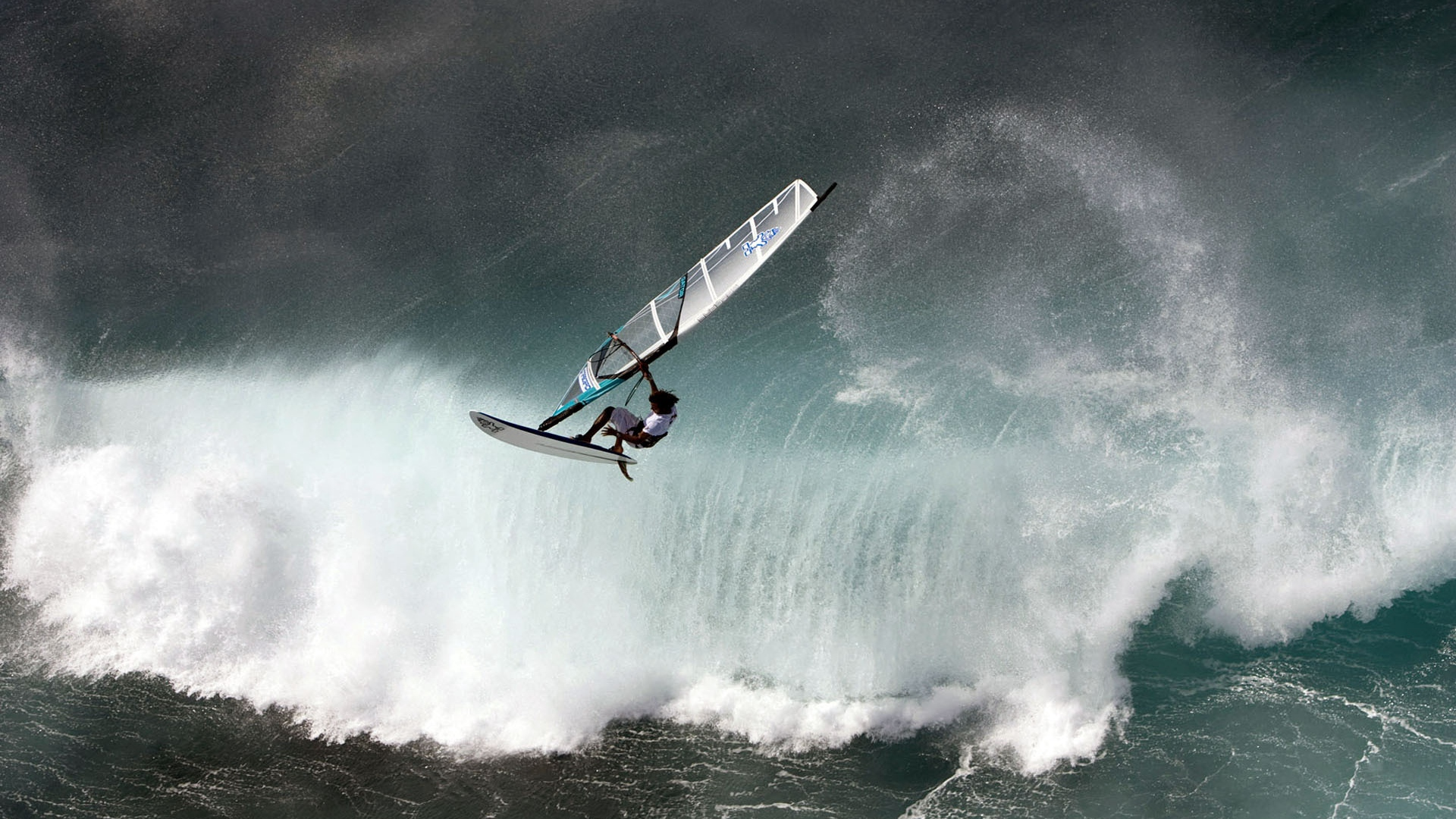 windsurfing wave water sports x