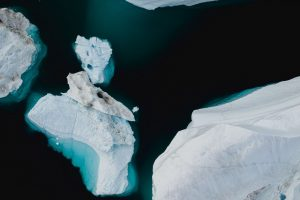 ice floes ice aerial view Hd Wallpaper