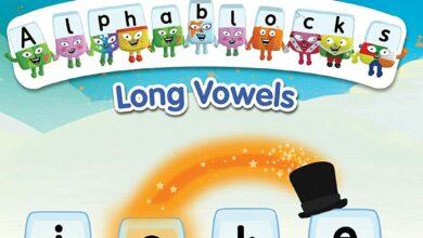 سلسلة صوتيات للاطفال تعليم اللغة الانجليزية المستوي الخامس - بدون موسيقى | Alphablocks - Long Vowels | Phonics | Level Five - No Music