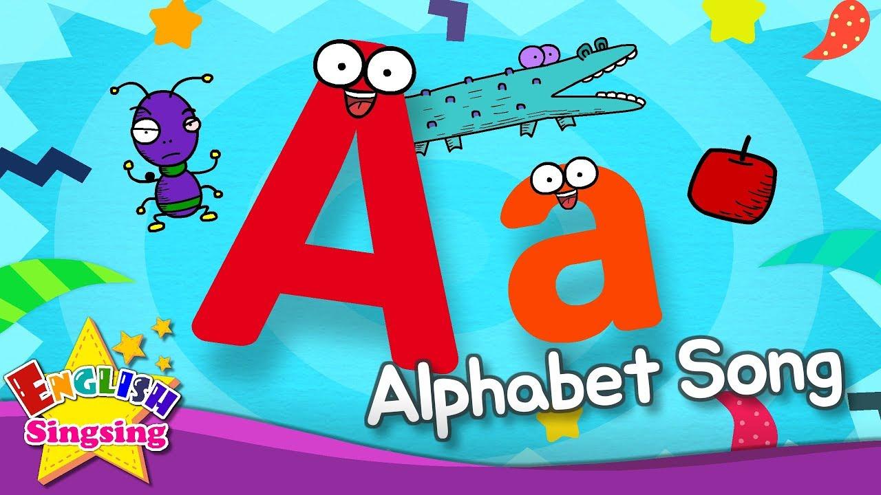 الأبجدية كلمات | A إلى Z للأطفال – بدون موسيقى (43) | Alphabet Song A to Z for Children – No Music