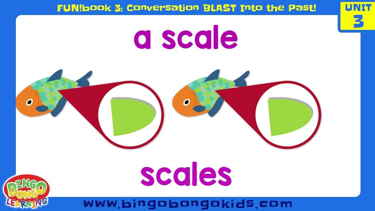 المستوى 3 – الوحدة 3 (المحادثة) – بدون موسيقى   Level 3 – Unit 3 (FUN!book 3 – Conversation Blast Into the Past) – No Music (5)