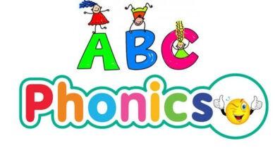 صوتيات الحروف الانجليزية 26 | ABC books - بدون موسيقى