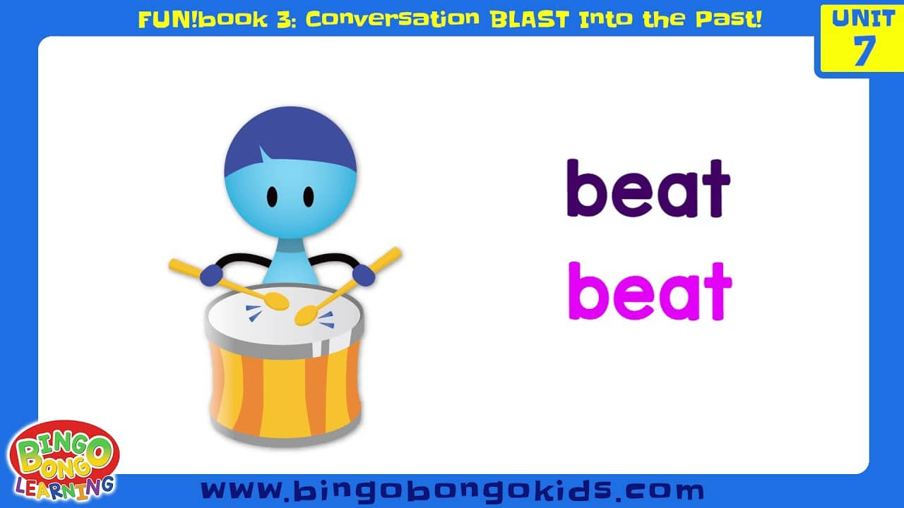 المستوى 3 – الوحدة 7 (المحادثة) – بدون موسيقى | Level 3 – Unit 7 (FUN!book 3 – Conversation Blast Into the Past) – No Music (5)