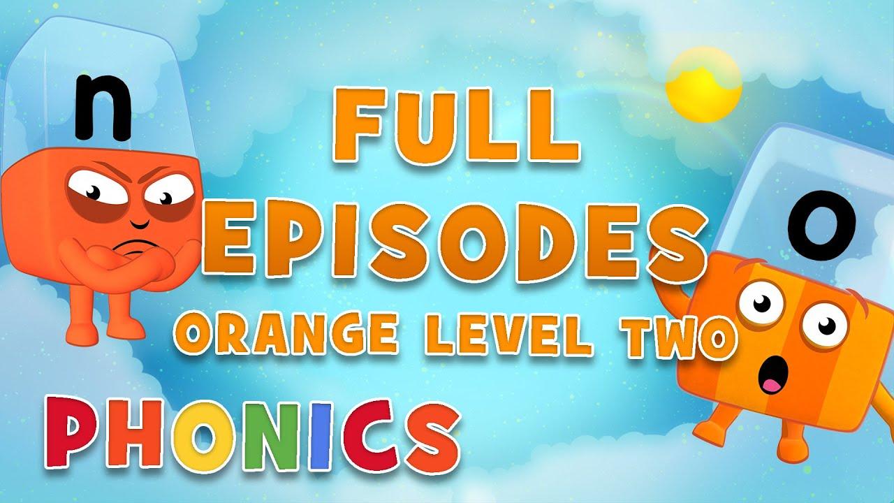 الحروف الهجائية – المستوى البرتقالي 2 | حلقات كاملة | – بدون موسيقى | Alphablocks – ORANGE LEVEL 2 | Full Episodes – No Music