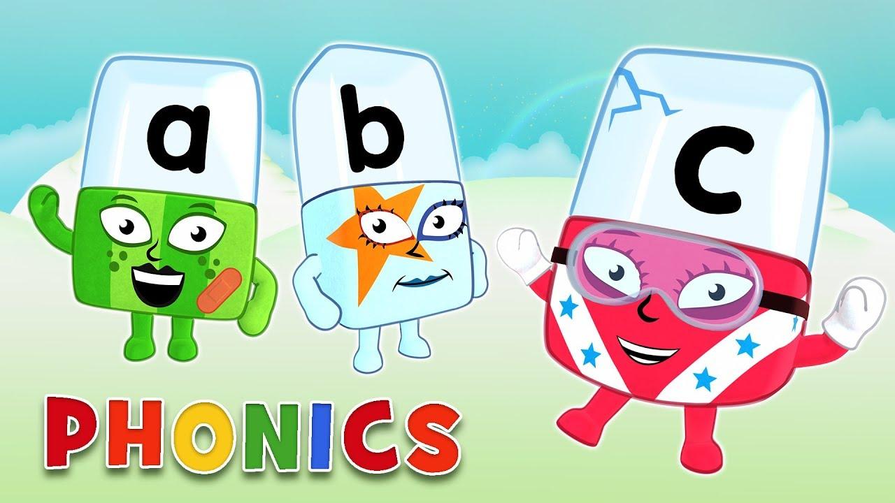 اطفال – لغة انجليزية – تعلم القراءة (40) بدون موسيقى| Alphablocks – Learn to Read in Syllables | Phonics | Level One – No Music