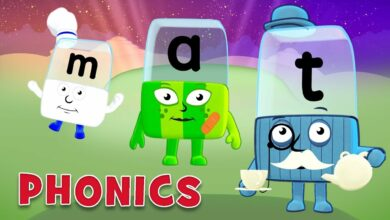 سلسلة تعلم القراءة والنطق - بدون موسيقى | Learn to Read in Syllables Phonics - No Music