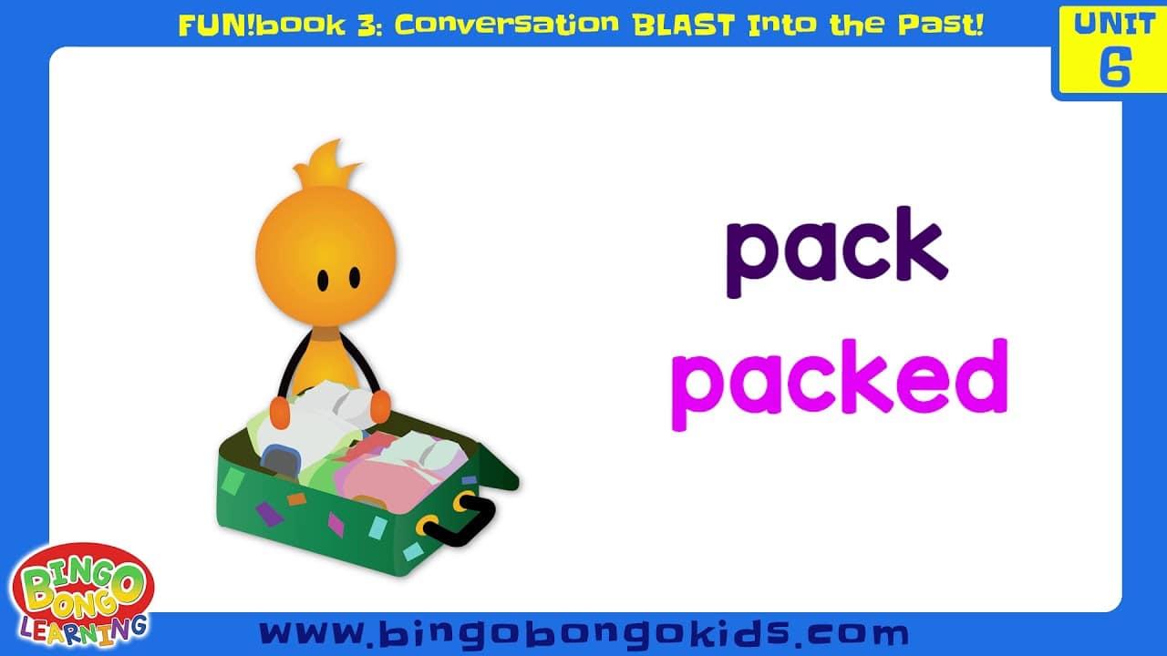 المستوى 3 – الوحدة 6 (المحادثة) – بدون موسيقى | Level 3 – Unit 6 (FUN!book 3 – Conversation Blast Into the Past) – No Music (5)