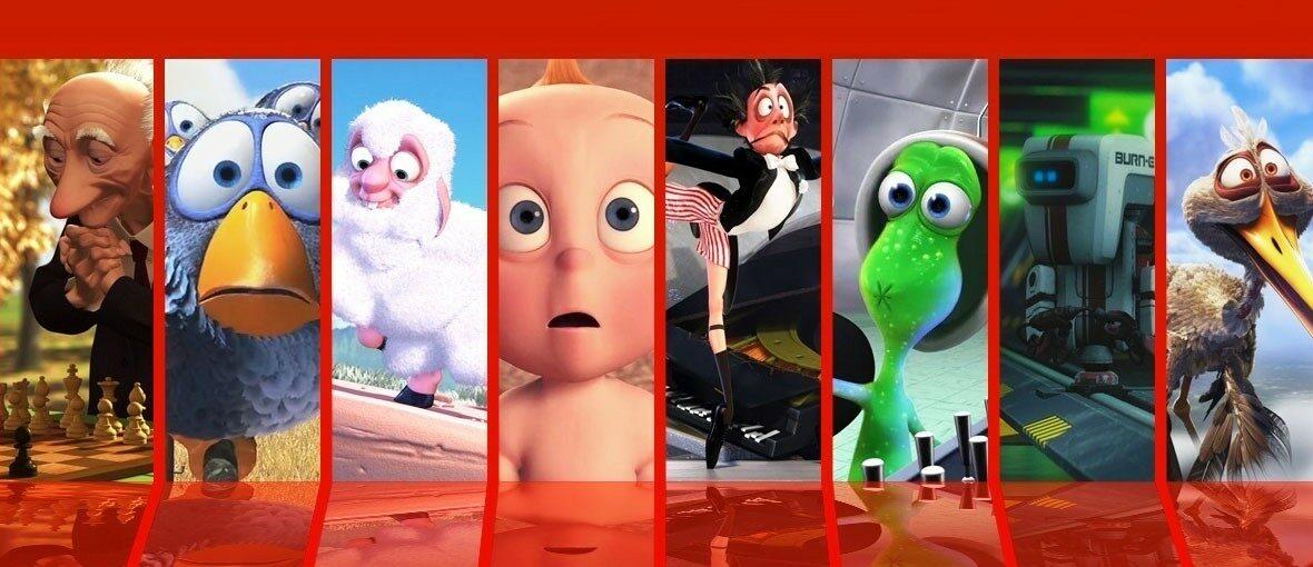 مجموعة افلام كرتون من انتاج بيكسر – بدون موسيقى | Pixar short films for kids – No Music