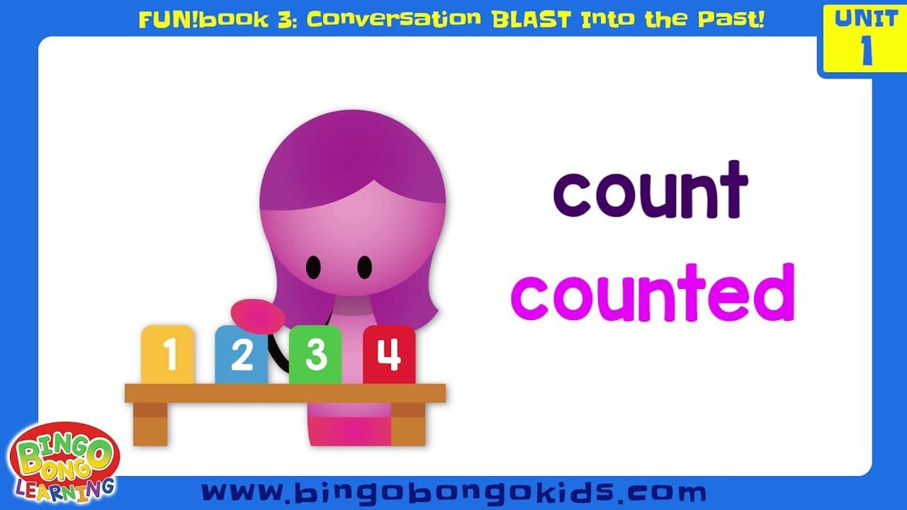 المستوى 3 – الوحدة 1 (المحادثة) – بدون موسيقى | Level 3 – Unit 1 (FUN!book 3 – Conversation Blast Into the Past) – No Music (5)