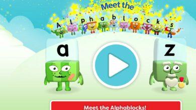 سلسلة تعلم القراءة - اللغة الانجليزية - الحروف الابجدية - بدون موسيقى |Alphablocks - Learn to Read | From A - Z | Meet The Alphablocks - No Music