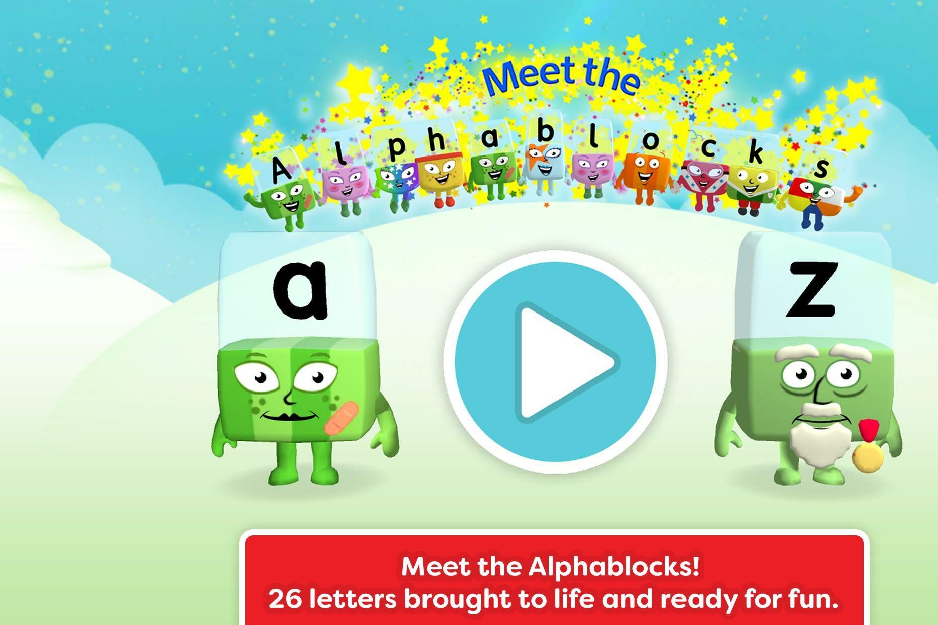 سلسلة تعلم القراءة – اللغة الانجليزية – الحروف الابجدية – بدون موسيقى |Alphablocks – Learn to Read | From A – Z | Meet The Alphablocks – No Music