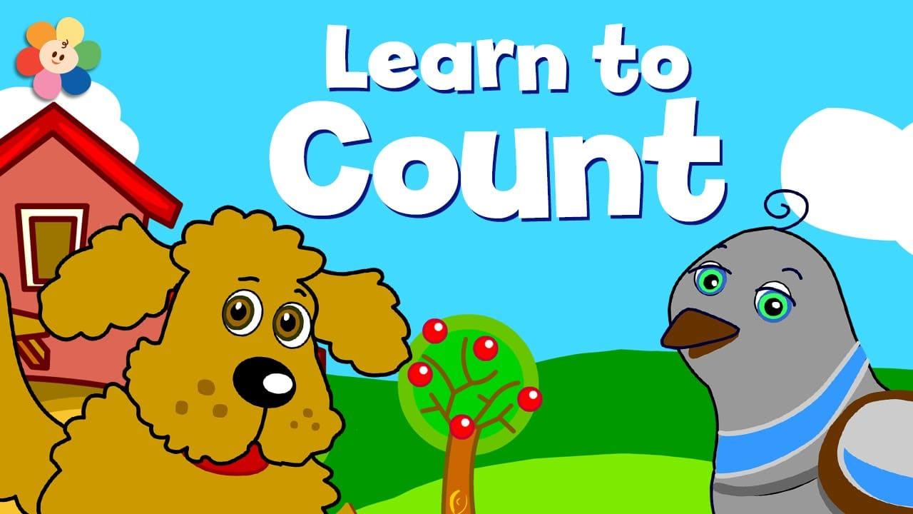 تعلم الأرقام والعد للاطفال بدون موسيقى | Numbers and Counting – No Music