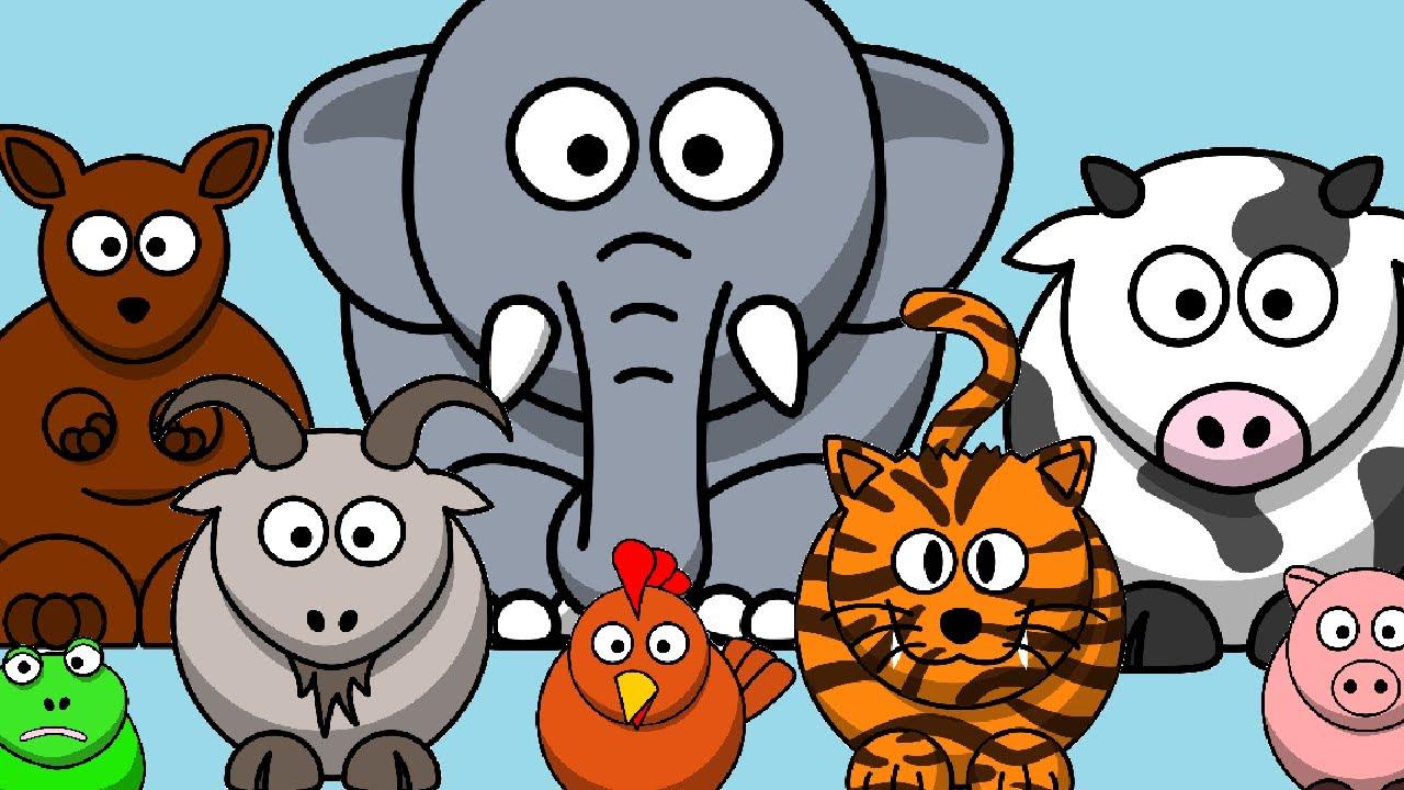 أصوات الحيوانات وأكثر! – بدون موسيقى | Animal Sounds and more! – No Music (56)