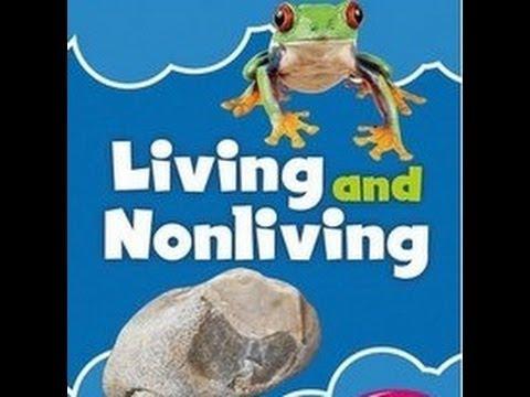 درس الكائنات الحية وغير الحية للأطفال – بدون موسيقى (1) Living and Nonliving Things for kids – No Music