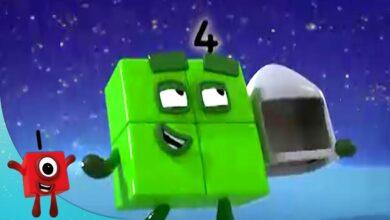 تعلم العد | الرياضيات للأطفال (261) - بدون موسيقى | Numberblocks - Learn to Count | Maths for Kids - No Music