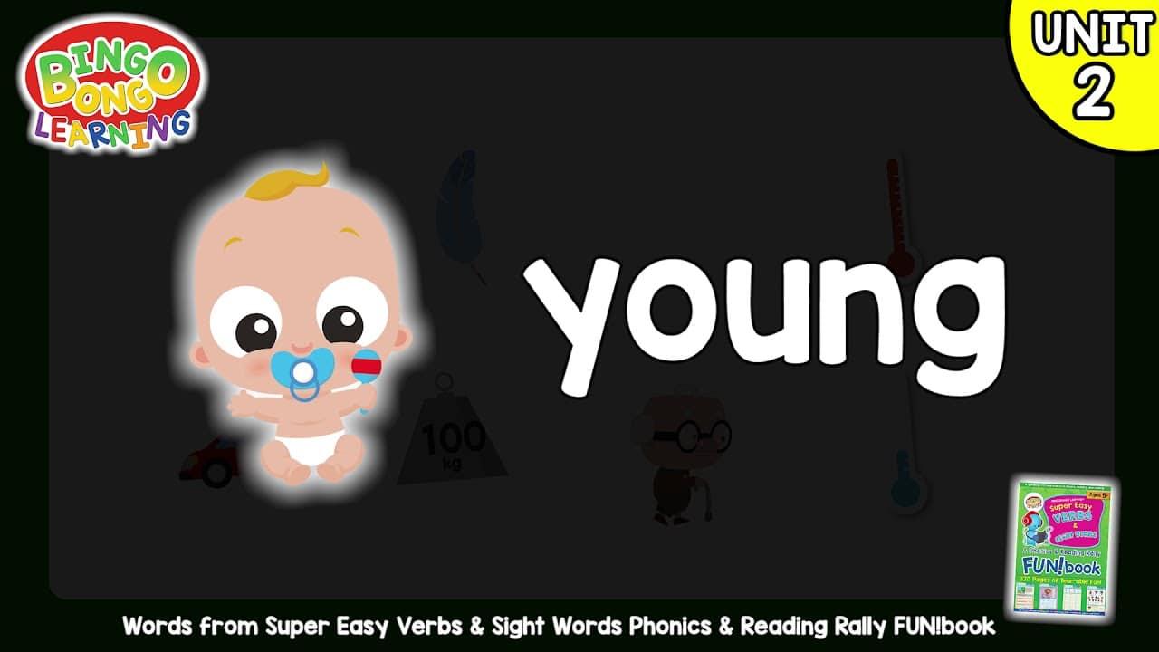 المستوى 2 – الوحدة 2 (كتاب المرح الأخضر – الأفعال وكلمات البصر) – بدون موسيقى | Level 2 – Unit 2 (Green FUN!book – Verbs and Sight Words) – No Music (7)