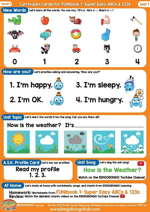 المستوى 1 – الوحدة 1 كتاب المرح البرتقالي – أبجديات و ارقام بدون موسيقى | Level 1 – Unit 1 (Orange FUN!book – ABCs & 123s) – No Music (6)