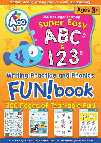 المستوى 1 – الوحدة 6 كتاب المرح البرتقالي الارقام والحروف – بدون موسيقى   Level 1 – Unit 6 (Orange FUN!book – ABCs & 123s) – No Music (8)
