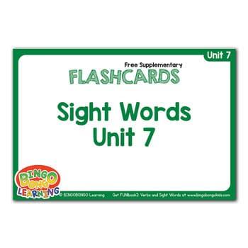 المستوى 2 – الوحدة 7 (كتاب المرح الأخضر – الأفعال وكلمات البصر) – بدون موسيقى | Level 2 – Unit 7 (Green FUN!book – Verbs and Sight Words) – No Music (7)