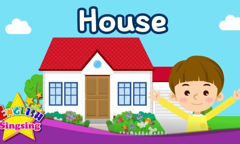 مفردات الأطفال - البيت - أجزاء من المنزل - تعلم اللغة الإنجليزية للأطفال - فيديو تعليمي باللغة الإنجليزية بدون موسيقى | Kids vocabulary - House - Parts of the House - Learn English for kids - English educational video No Music (1 فيديو)