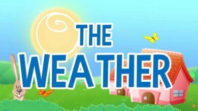 التعرف على الطقس بدون موسيقى | Learning about the Weather - No Music (4 فيديو)