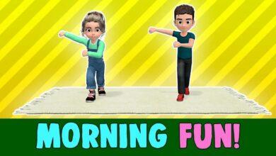 تمارين الصباح بدون موسيقى | Morning Exercises No Music (3 فيديو)