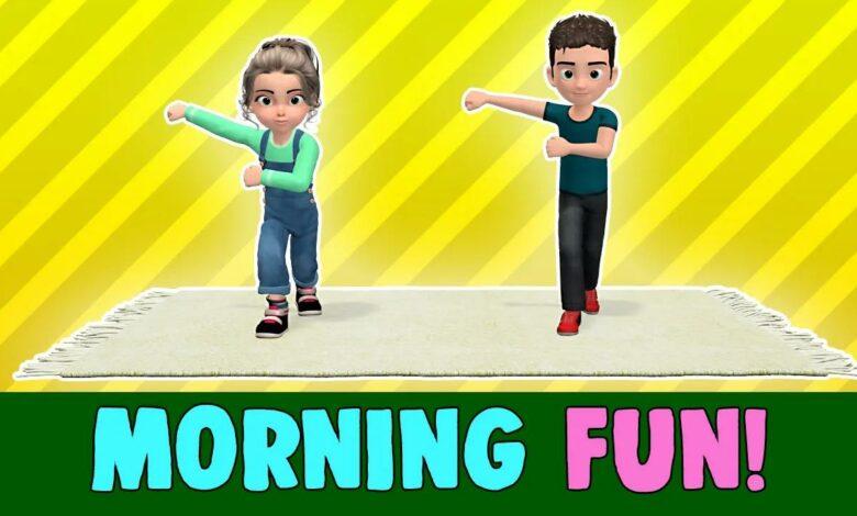 تمارين الصباح بدون موسيقى   Morning Exercises No Music (3 فيديو)
