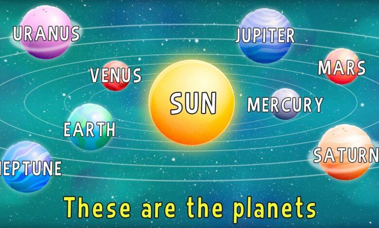 التعرف على الكواكب بدون موسيقى | Learning about Planets - No Music (4 فيديو)