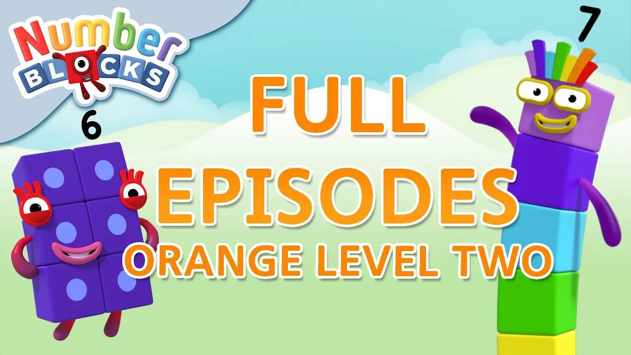 Numberblocks - المستوى البرتقالي 2 | #LearningFromHome بدون موسيقى | Numberblocks - ORANGE LEVEL 2 | #LearningFromHome No Music (10 فيديو)
