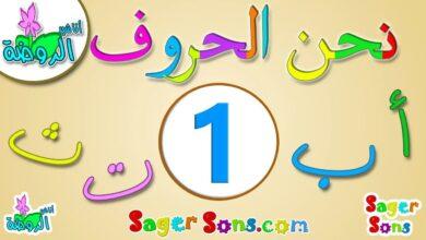 تعليم الاطفال الحروف العربية - الحروف الهجائية ( 3 ) بدون موسيقى | Teaching kids Arabic letters - alphabets (3) No Music