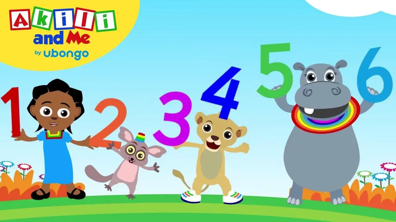 حان الوقت للعد! واحد اثنين ثلاثة! - أغاني تعليمية من عقيلي وأنا بدون موسيقى | Time to Count! One, two, three! - Educational Songs from Akili and Me No Music