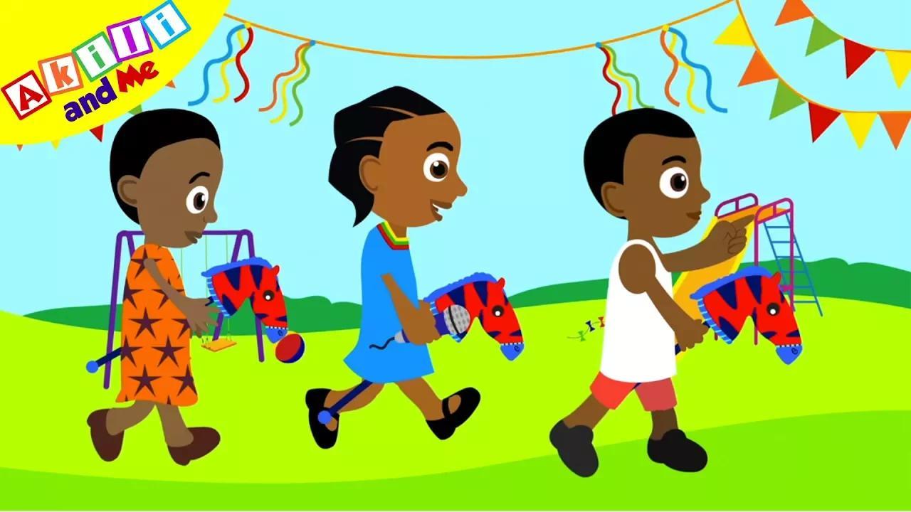 تعلم السواحلية - اللغة الأفريقية للأطفال! بدون موسيقى | Learn Swahili - African Language for Kids! No Music