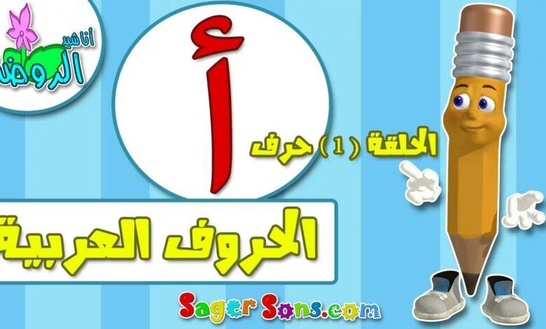 تعليم الاطفال الحروف العربية - الحروف الهجائية ( 4 ) بدون موسيقى | Teaching kids Arabic letters - alphabets (4) No Music