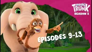 حلقات M&T الكاملة S2 09-13 [Munki and Trunk] بدون موسيقى | M&T Full Episodes S2 09-13 [Munki and Trunk] No Music