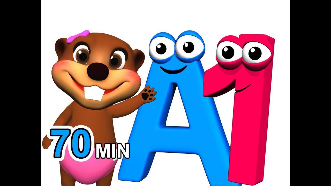 يحب الأطفال الغناء والترديد والتعلم | 70 دقيقة هيتس بدون موسيقى | Kids Love to Sing, Chant & Learn | 70 Min Hits No Music (127 فيديو)
