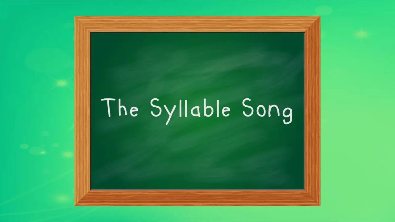 تعلم المقاطع | أغنية مقطع لفظي للأطفال | كلاب ، ستومب و اقضم بصوت عالي | جاك هارتمان بدون موسيقى | Learn Syllables | Syllable Song for Kids | Clap, Stomp and Chomp | Jack Hartmann No Music