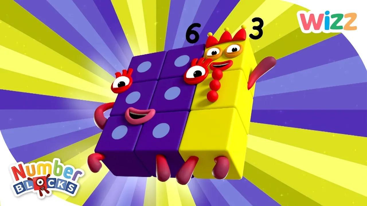 Numberblocks - ما هو الفرق ، اللبنات الأساسية وأكثر | تعلم العد | ويز بدون موسيقى | Numberblocks - What's the Difference, Building Blocks & More | Learn to Count | Wizz No Music